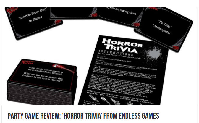 Blogcritics Horror Trivia Review