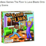 The Floor Is Lava Blasts Onto Toy Scene