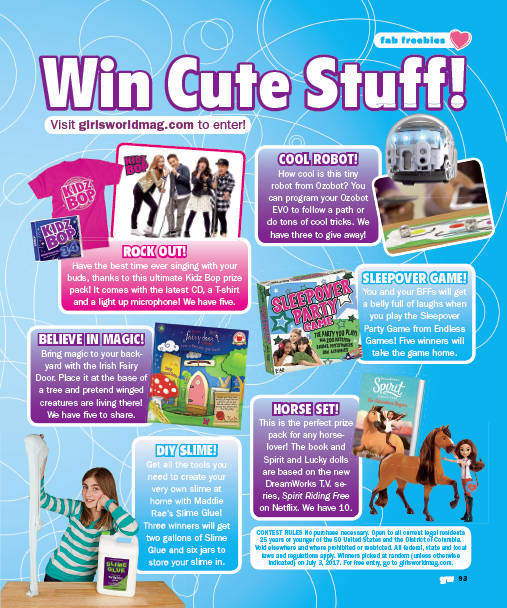 Check out Girls World Magazine to win Some Endless Games | Endless Games