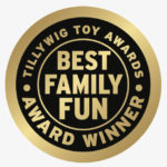 The Floor is Lava won a Tillywig Toy & Media Award!