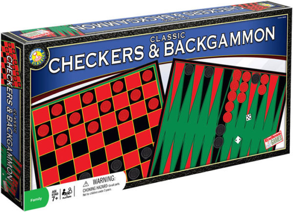 Checkers Backgammon set