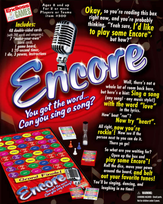 Encore Game