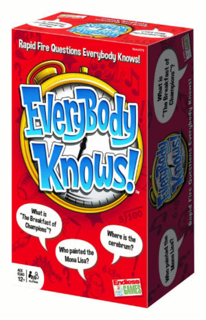 Everybody Knows Game Box