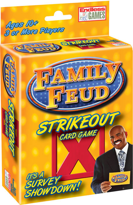 Family Feud™ Strike Out Card Game
