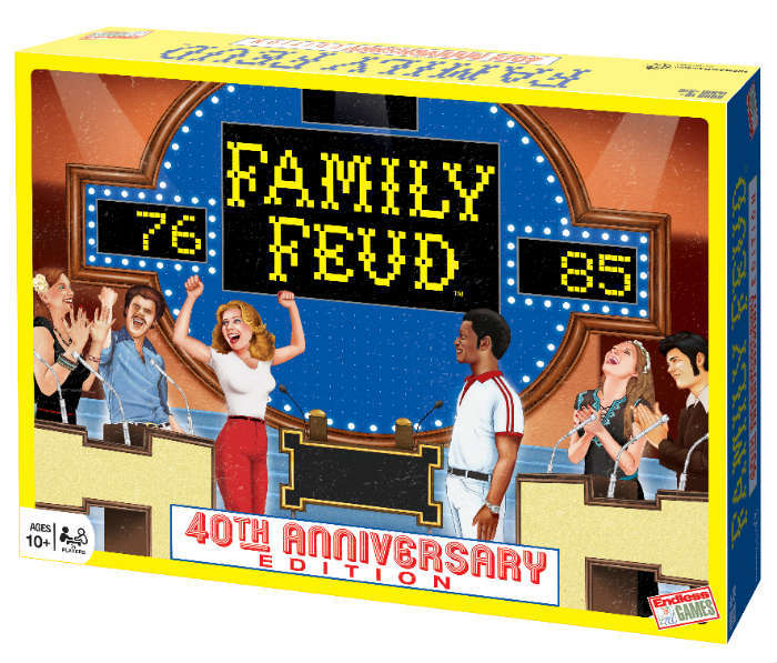 Family Feud 40th Anniversary Retro Edition Game