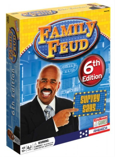 Family Feud 6th Edition Board Game