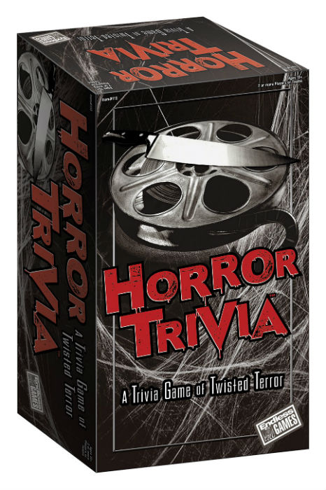 Horror Trivia Game Box