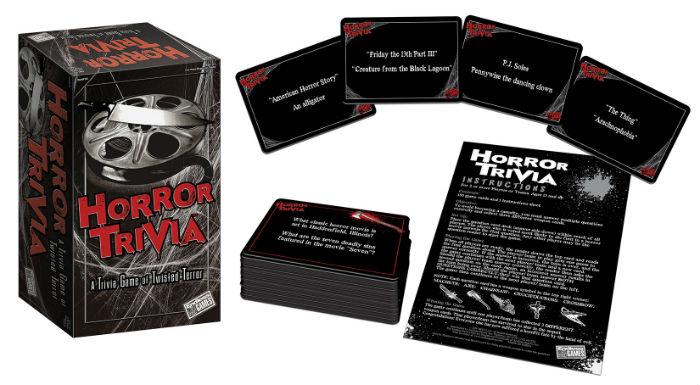 Horror Trivia game content