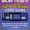 Jeopardy Junior Card Game Back Box