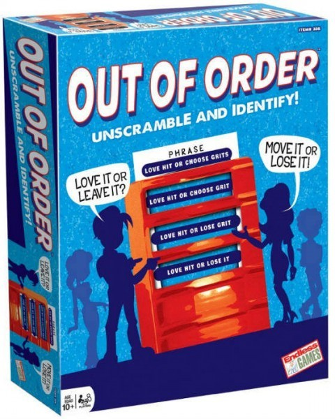 Out of Order Word Game