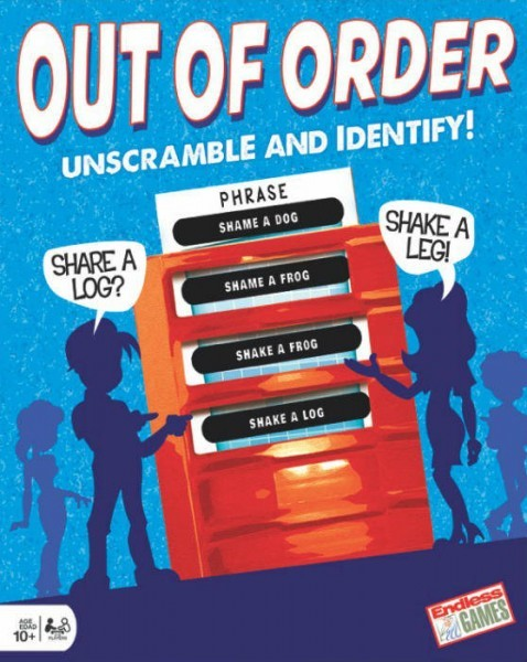 Out of Order Family Word Game