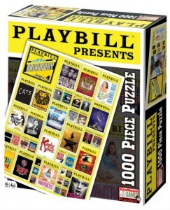 Playbill Puzzle Broadway Cover