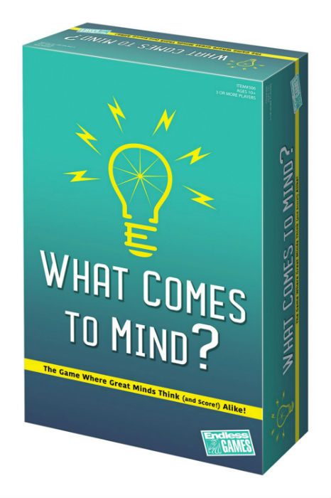 What Comes To Mind Game Box