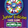 Wheel of Fortune Junior Edition Card Game Back Box
